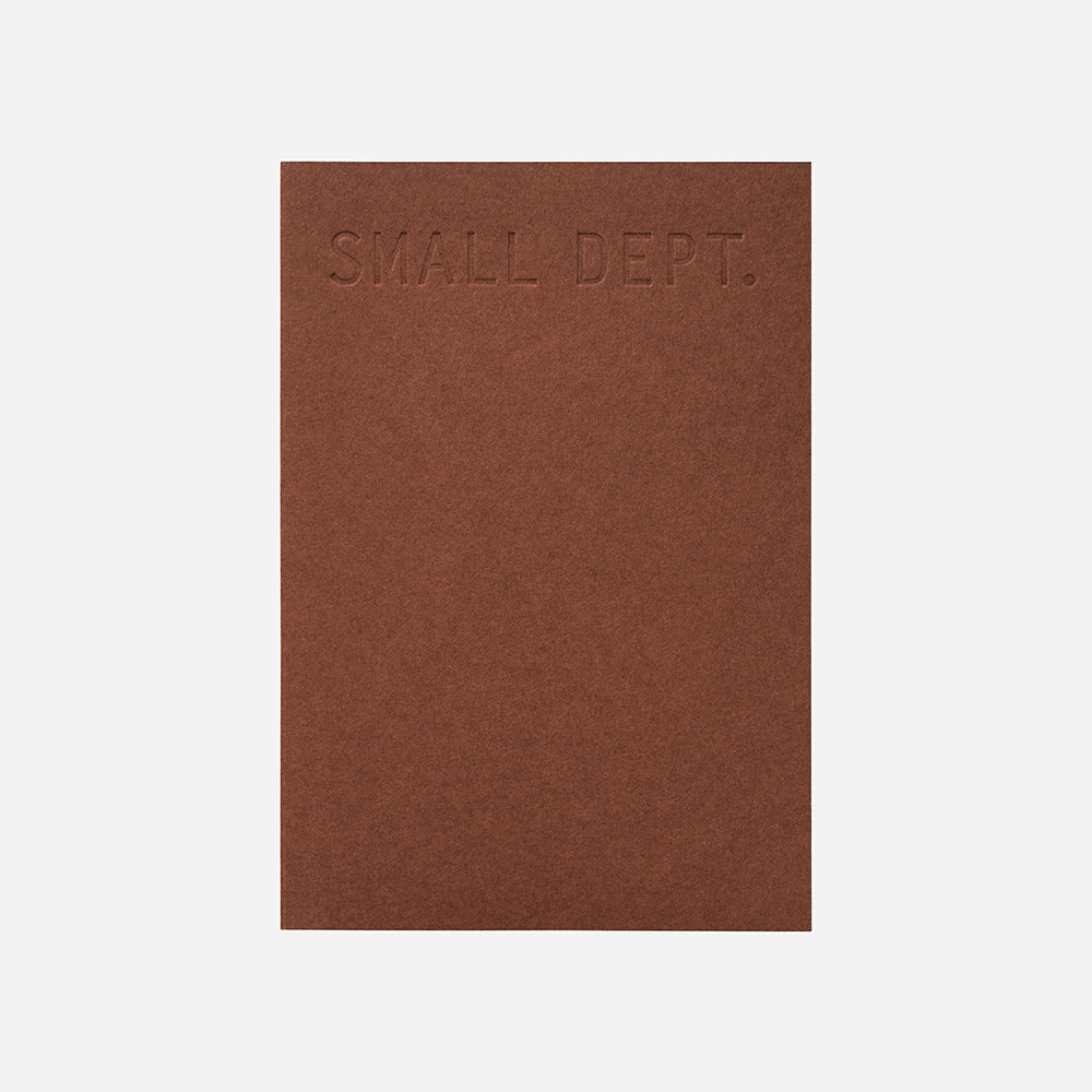 Small dept : sketch - Red brick